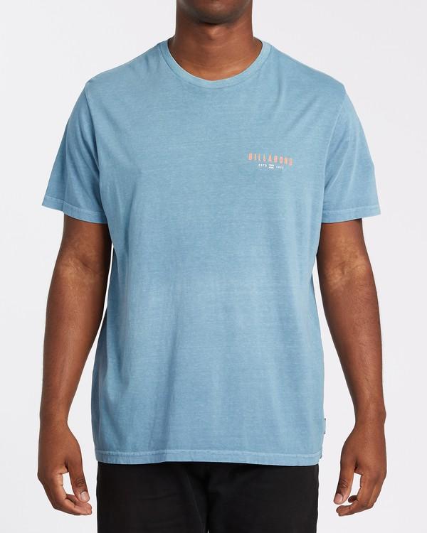 0 General Short Sleeve T-Shirt Grey MT132BGE Billabong