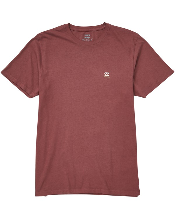 0 Free 73 Tee Purple MT13QBFR Billabong