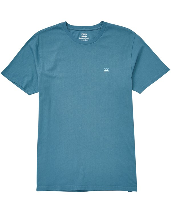0 Free 73 T-Shirt Blue MT13QBFR Billabong