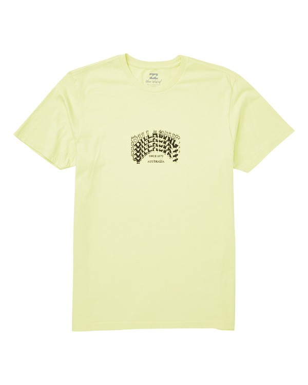 0 Archstack Tee Yellow MT13TBAS Billabong