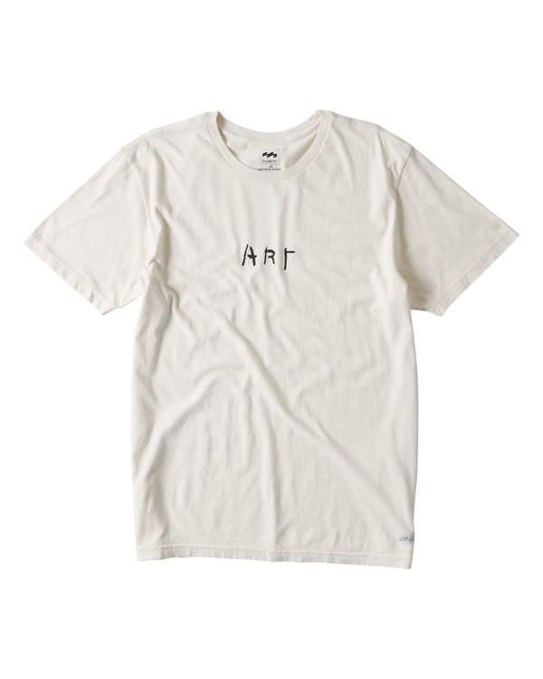 0 Art T-Shirt Brown MT13TBAT Billabong