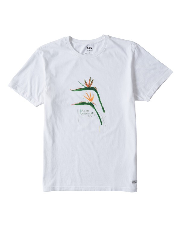 0 Bird Of Paradise T-Shirt White MT13TBBI Billabong