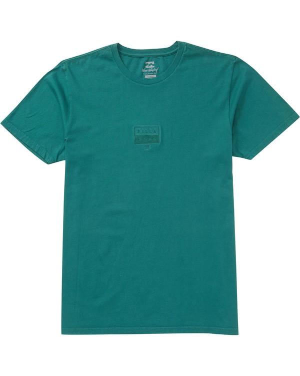 0 Decal T-Shirt Green MT13TBDE Billabong