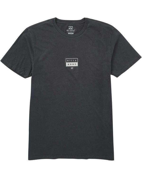0 Decal T-Shirt Grey MT13TBDE Billabong