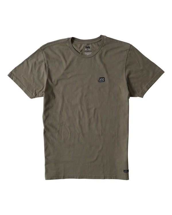 0 Now's The Time Tee Green MT13TBHO Billabong