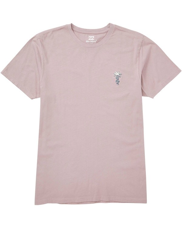 0 Snakes On A Palm T-Shirt Beige MT13TBSP Billabong