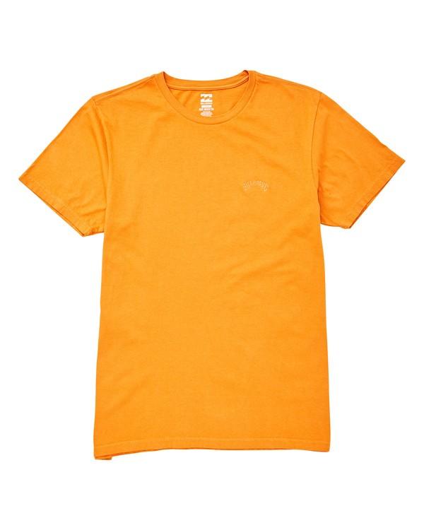 0 Seven Three T-Shirt Red MT13TBST Billabong