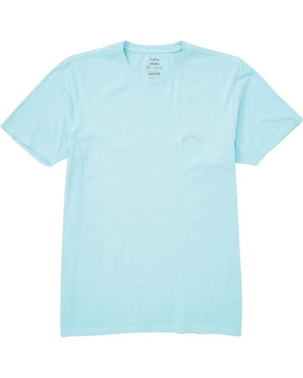 0 Seven Three T-Shirt Blue MT13TBST Billabong