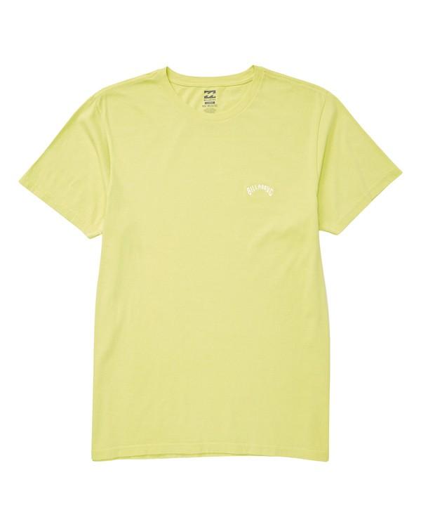 0 Seven Three T-Shirt Yellow MT13TBST Billabong