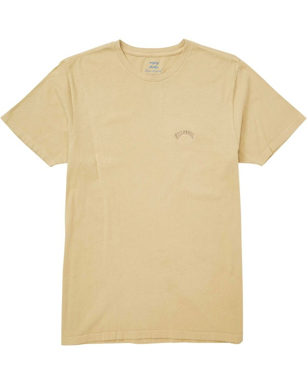 0 Seven Three T-Shirt Beige MT13TBST Billabong