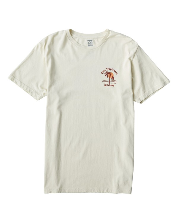 0 Tropicales T-Shirt White MT13VBTR Billabong