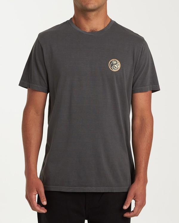 0 Yang Short Sleeve T-Shirt White MT13WBYA Billabong