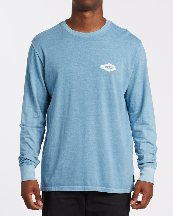 0 Auto Shop Long Sleeve T-Shirt Grey MT432BAU Billabong
