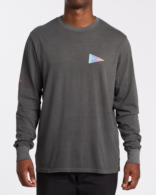 0 Flag Long Sleeve T-Shirt White MT432BFL Billabong