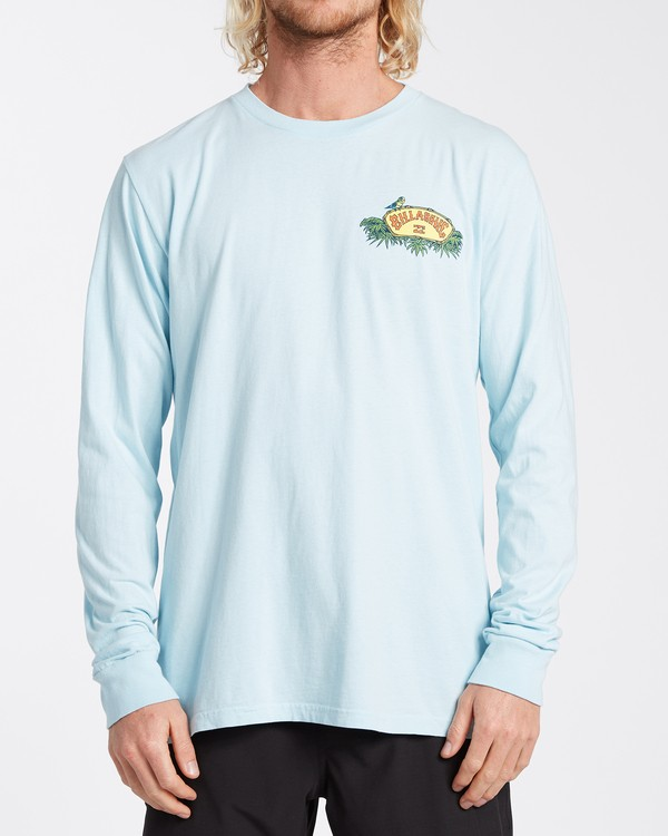 0 Marakesh Long Sleeve T-Shirt Blue MT433BMA Billabong