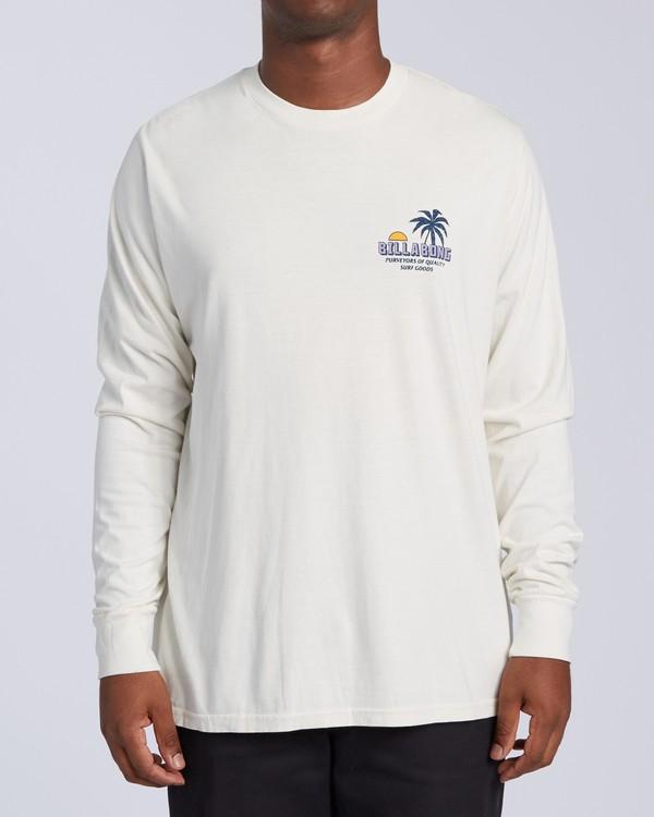 0 Marakesh Long Sleeve T-Shirt White MT433BMA Billabong