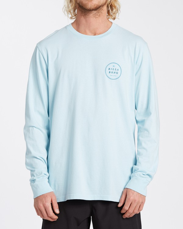 0 Rotor Long Sleeve T-Shirt Blue MT433BRO Billabong