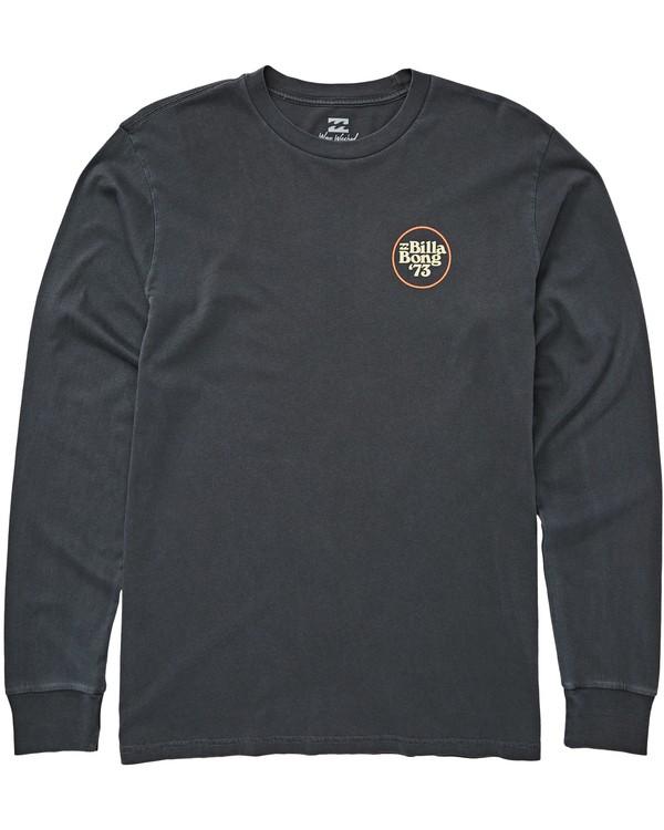 0 Cruiser Long Sleeve T-Shirt Grey MT43QBCR Billabong