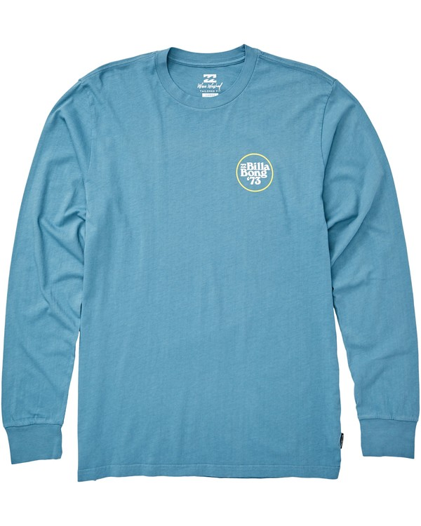 0 Cruiser Long Sleeve T-Shirt Blue MT43QBCR Billabong