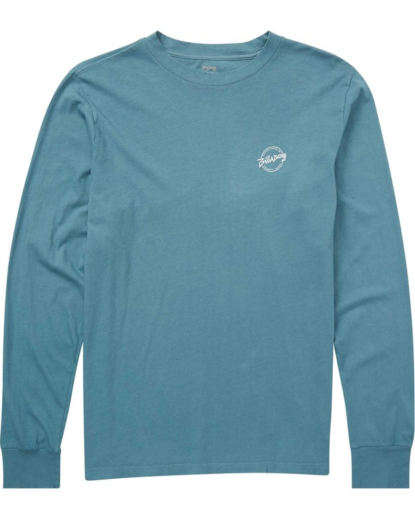 0 Eighty Six Long Sleeve T-Shirt Blue MT43QBEI Billabong