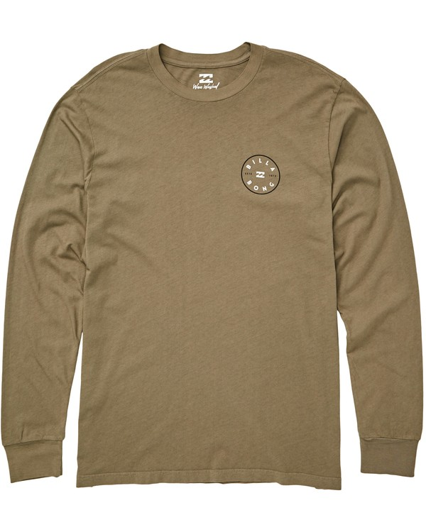 0 Rotor Long Sleeve T-Shirt  MT43QBRO Billabong