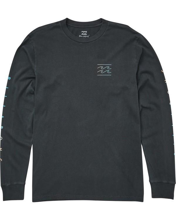 0 Unity Sleeves Long Sleeve T-Shirt Grey MT43QBUS Billabong