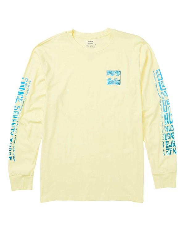 0 Boundry Long Sleeve T-Shirt  MT43SBBO Billabong