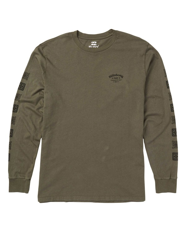 0 Compania Long Sleeve T-Shirt  MT43SBCO Billabong
