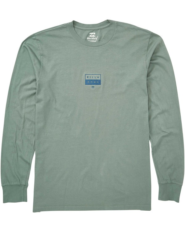 0 Decal Long Sleeve Tee  MT43TBDE Billabong