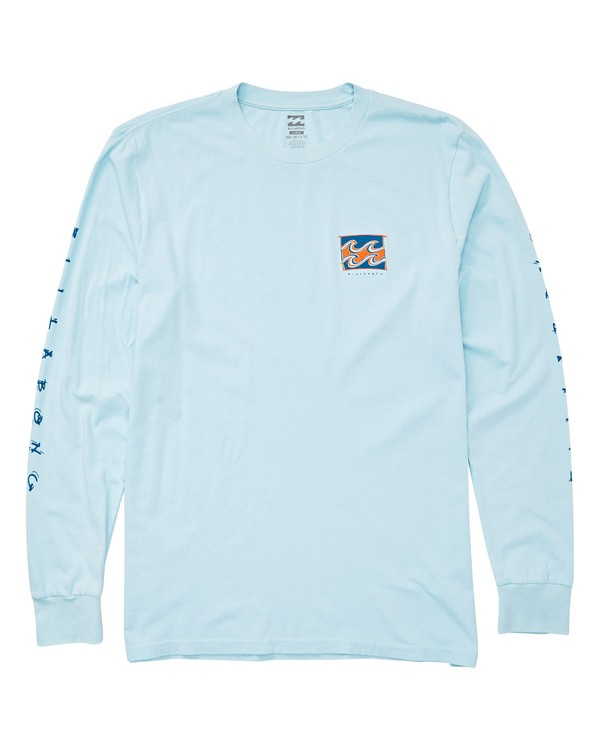 0 Gavin Long Sleeve Tee Blue MT43UBGA Billabong