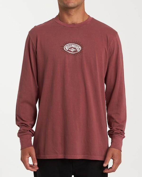 0 Arch Ray Long Sleeve T-Shirt Red MT43WBAR Billabong