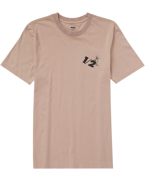 0 Men's Half Tee  MT45PBHA Billabong