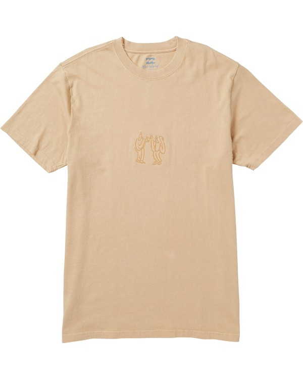 0 Falabar Graphic T-Shirt Beige MT47SBFA Billabong