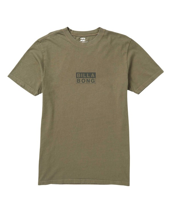 0 Virtue Graphic T-Shirt Green MT47SBVI Billabong