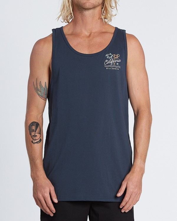 0 Cali Tank Blue MT831BCA Billabong