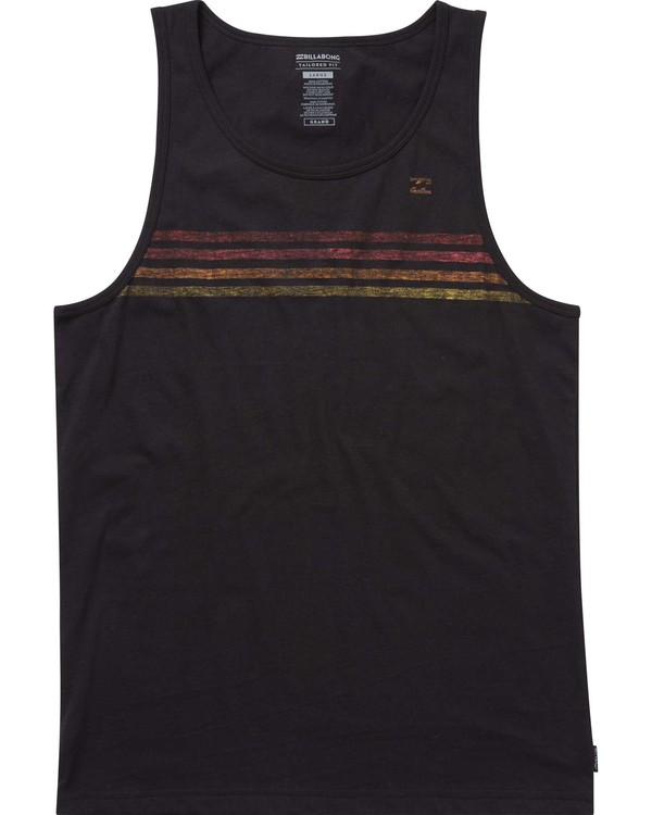 0 Team Stripe Tank  MT83PBTS Billabong