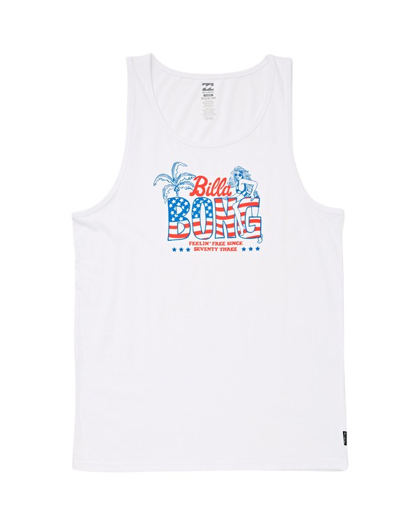 0 Oohlala Tank White MT83UBOO Billabong