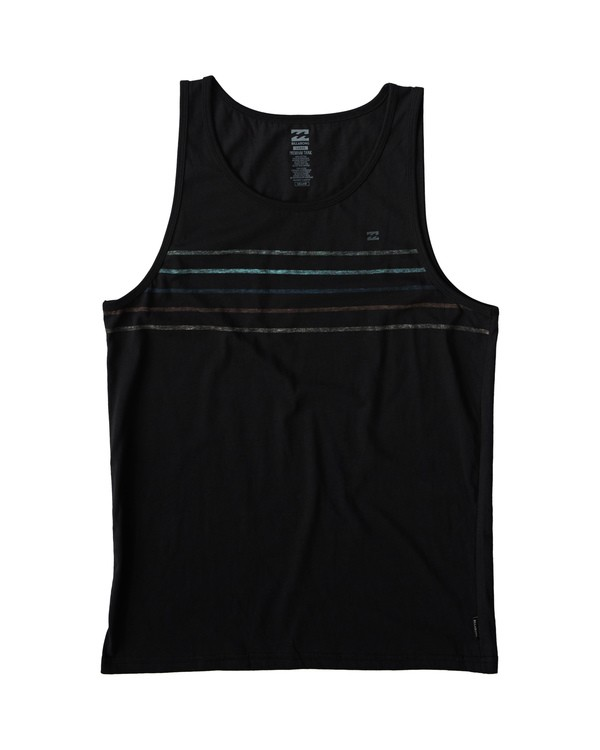 0 Spinner Tank Black MT83VBSP Billabong
