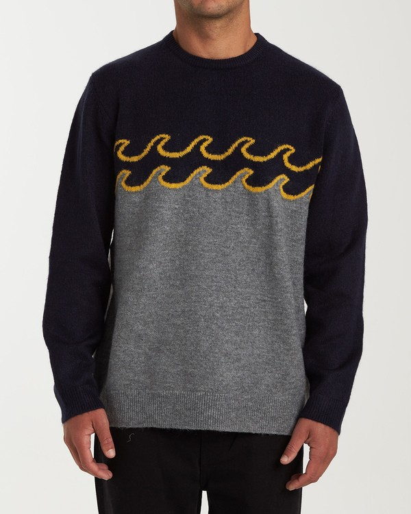 0 Waves Sweater Grey MV03WBWS Billabong