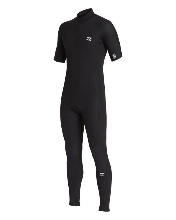 0 2/2 Absolute Back Zip Wetsuit Black MWFU1BL2 Billabong