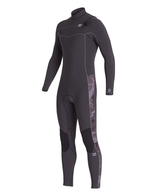 0 3/2 Revolution Pro Chest Zip Fullsuit Black MWFU1BP3 Billabong