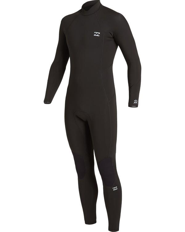 0 4/3 Absolute Back Zip Wetsuit Black MWFU3BA4 Billabong