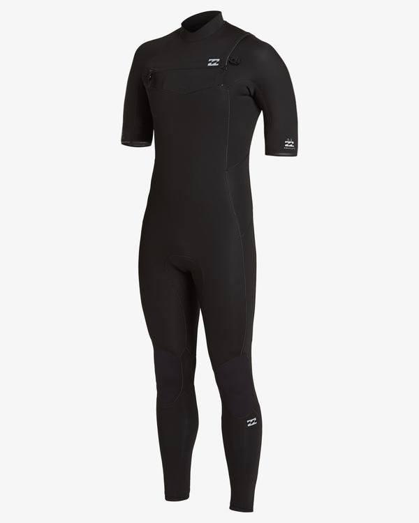 0 2/2 Absolute Chest Zip Wetsuit Black MWFU3BC2 Billabong