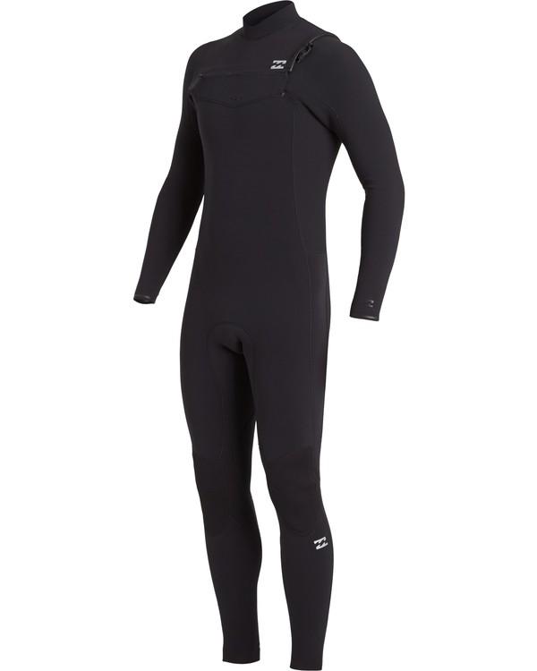 0 3/2 Revolution Pro Chest Zip Wetsuit Black MWFU3BP3 Billabong
