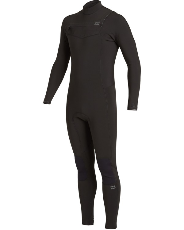 0 4/3 Revolution Chest Zip Wetsuit Black MWFU3BR4 Billabong