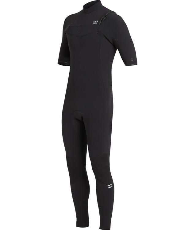 0 2/2 Revolution Pro Chest Zip Wetsuit Black MWFU3BS2 Billabong