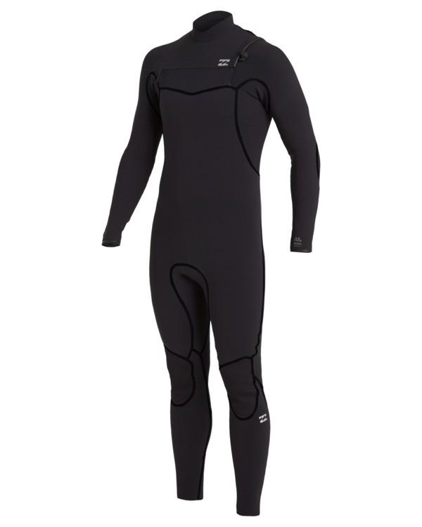 0 3/2 Furnace Chest Zip Wetsuit Black MWFU3BU3 Billabong