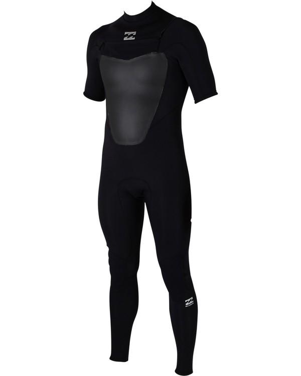 0 2/2 Absolute Back Zip Wetsuit Black MWFUJAS2 Billabong