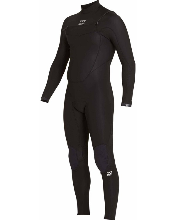 0 403 Absolute Comp Chest Zip Fullsuit Black MWFULAC4 Billabong