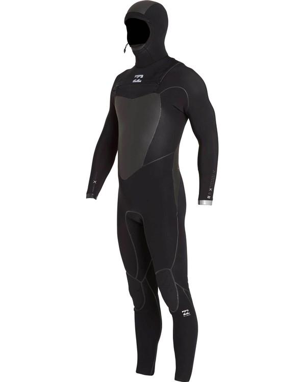 0 5/4 Furnace Carbon X Hooded Chest Zip Fullsuit  MWFULCH5 Billabong